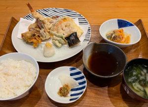 天草車海老天ぷら定食